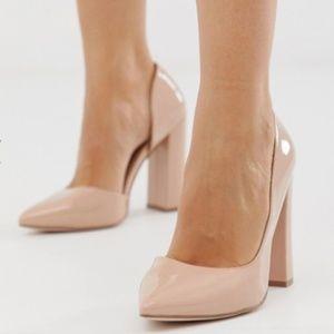Wide Fit Nude Heel